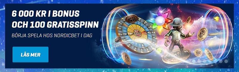Bra casinobonusar hos Nordicbet och Betsson