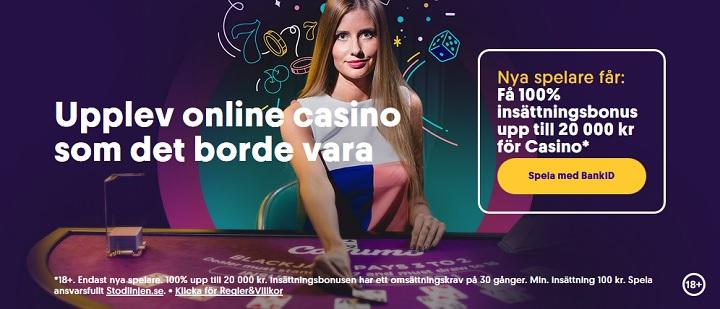 Casumo casino bonusar