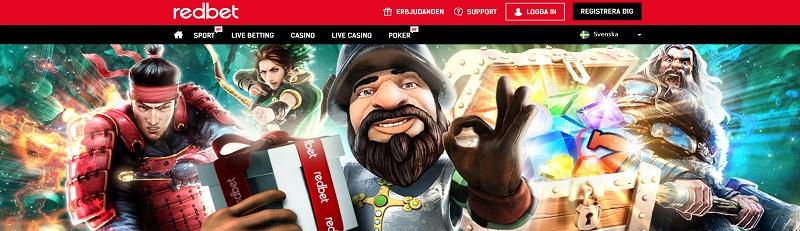 bästa casinobonusen hittar du hos Redbet med 2000 kr och 150 free spins