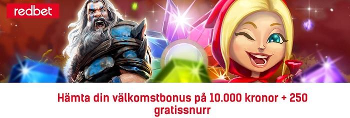 Redbet casinobonus en av Sveriges bästa
